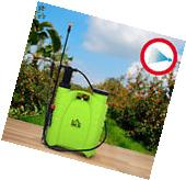 Professional 4-Gal Backpack Poly Sprayer Lawn Pest Home