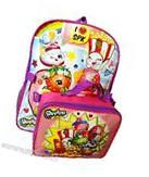 """Shopkins 16"""" Large Backpack School Bag with Detachable Lunch"""