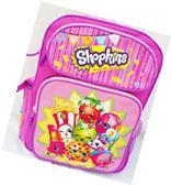 """Shopkins Backpack 16"""" Brand New School backpack NEW!"""