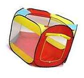 Kiddey Ball Pit Play Tent for Kids - 6-sided Playhouse for
