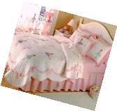 Ballerina Full Bedding Toddler Quilt Set Ballet Dance