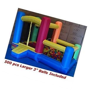 BALLS INCLUDED - My Bouncer Perfect Little Ball Pit Great