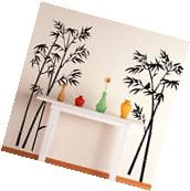 Bamboo Forest Removable Vinyl Decal Wall Sticker Mural DIY