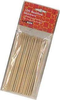 6 Inch Bamboo Skewers - 100 pcs. By Fox Run