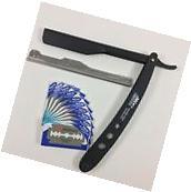 Professional Barber Hair Shaving Razor Straight Edge Folding