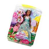 NEW Barbie Doll DREAMTOPIA Rainbow Color Styling Princess