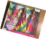 Barbie Dreamtopia Rainbow Cove 3 Doll Gift Set - Mermaid,