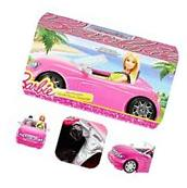 Barbie Glam Convertible Car Mattel Pink Sport Vehicle Kids