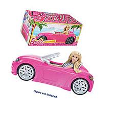 Barbie Glam Convertible! Doll Vehicle