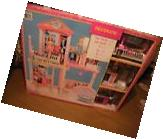NEW Mattel Barbie House 2 Story 3 Dolls Girl Dream Townhouse
