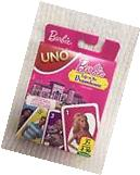 Barbie Life in a Dreamhouse Uno Card Game New in Box Mattel