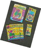 BARNEY PARTY SUPPLIES cake decorator candles CENTERPIECE