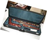 KUENG BAROQUE STAINED MAPLE GREAT BASS RECORDER, NEW  MODEL