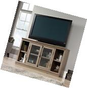 Sauder Barrister Lane TV Stand / Entertainment Credenza in Salt Oak 416488 New