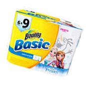 Bounty Basic Select-a-Size Giant Roll Paper Towels, Disney