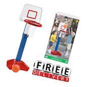 Basketball Kid Hoop Portable Adjustable Toddler Indoor