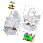 Bassinet Crib Nursery Portable Canopy Baby Bed Newborn Boys