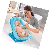 Summer Infant Baby Bath Bather Chair Seat Blue Adjustable