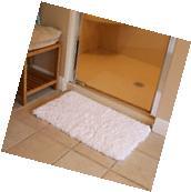Bath Mat Bathroom Rug Non-slip Soft Microfiber Shower Rugs