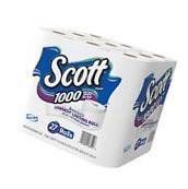 Bath Tissue Scott Toilet Paper 1000 Sheets Per Roll 27 Rolls