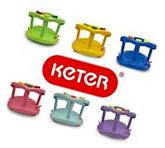 KETER Infant Baby Bath Tub Ring Safety Seat Anti Slip