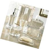 Bathroom Accessory Set 8 Piece Vizcaya Accessory Set in