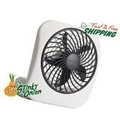 Battery Operated Portable Fan Mini 5 Inch Handheld Compact