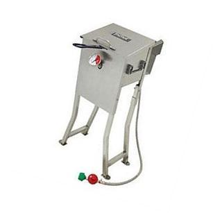 Barbour 700-701 4 Gal Bayou Fryer With 2 Ss Baskt