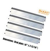 BBQ Gas Grill 4 Heat Plates Shield Stainless Steel Parts