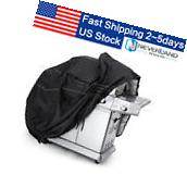 """39"""" BBQ Gas Grill Cover Black Barbecue Heavy Duty Waterproof"""
