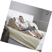 Bed Body Pillow Set 4 Piece Wedge Memory Foam Support