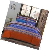 3 piece Bedding set Duvet Cover and Pillow Shams Full/Queen