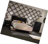 4 Piece Bedroom Set Queen size Storage Platform Bed Headboard Chest & Nightstand