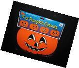Beistle Pumpkin Cutouts Halloween Decorations 4 Piece Jack O