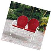 Outdoor Bench Glider Swing Seat Patio Garden Furniture Porch