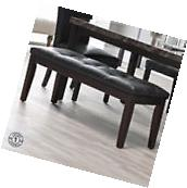 Benches For Dining Table Bedroom Entryway Tufted Bench Wood