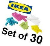 IKEA BEVARA 30 sealing clips food storage bag seal freezer