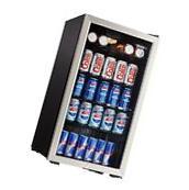 Danby Beverage Center, Stainless Steel, DBC120BLS, Mini