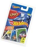 Mattel BGG53 Uno Card Game - Hot Wheels Edition
