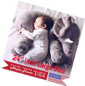 Big Elephant Pillow Children Soft Plush Toy Doll Baby Kids