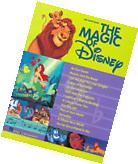 """THE MAGIC OF DISNEY"" BIG-NOTE PIANO/KEYBOARD MUSIC BOOK-NEW"