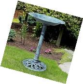 Bird Bath Garden Yard Lawn Outdoor Garden Pedestal Decor