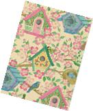 BIRD HOUSE GIFT WRAPPING PAPER -Two Large 6' Sheets