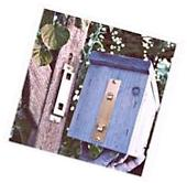 BIRD HOUSE WALL HANGER BRACKET HOLDS UP TO 18 LBS