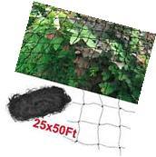 25' x 50' Anti Bird Netting Poultry Chicken Avaiary Garden