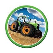 Children's Birthday Party - Tractor Time - 8 x Dinner Paper