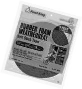 Thermwell #R538H 3/8x5/16 Black Foam Tape