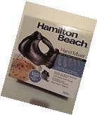 Hamilton Beach 6-Speed Black Hand Mixer with Snap-On Storage