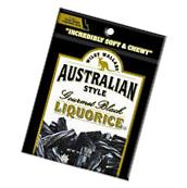 Black Licorice Wiley Wallaby Australian Style Gourmet Candy