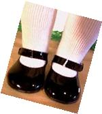 "BLACK PATENT SHOES Fits 18"" American Girl Doll, 18 Inch"